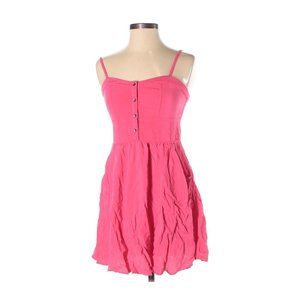 Express Pink Dress Mini Short Small
